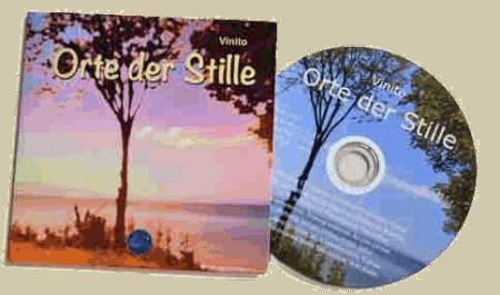 CDs mitEntspannungs- und Wellness-Musik von Vinito