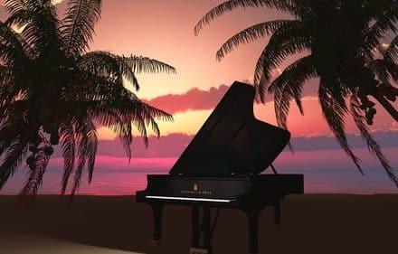 Entspannungsmusik mit Piano / E-Piano