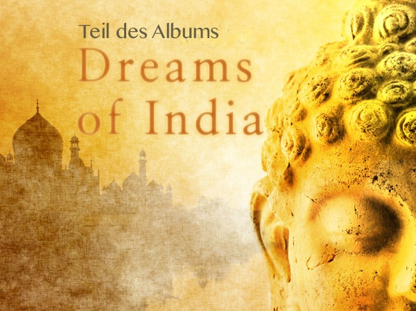 Teil des wellness-albums dreams of india